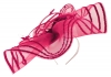 Max and Ellie Crin Disc Headpiece in Fuchsia