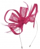 Max and Ellie Flower Fascinator in Fuchsia