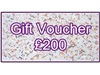 Gift Voucher 200 Pounds