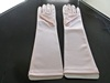 Wedding gloves Silver
