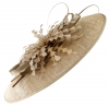 Failsworth Millinery Events Feathers Disc in Gold-Silver