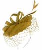 Failsworth Millinery Sinamay Pillbox in Gold