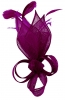 Max and Ellie Lily Comb Fascinator in Grape