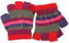 SSP Hats Striped Fingerless Gloves