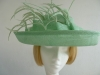 Blackberry Hats Ascot hat Mid Green
