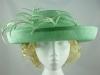 Blackberry Hats Ascot hat Mid Green