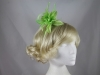 Flower Aliceband Fascinator in Green