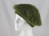Gwyther Snoxells Angora Beret in Green