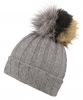 Alice Hannah Kimberley Multi Bobble Ski Hat in Grey