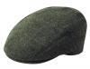 Failsworth Millinery Stornoway Flat Cap in Grey