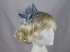 Flower Aliceband Fascinator in Grey