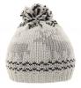 Hawkins Reindeer Beanie Ski Hat in Grey