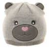 Jiglz Bear Beanie in Grey