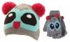Jiglz Knitted Novelty Kids Ski Hat and Gloves