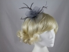 Swirl & Biots Fascinator on aliceband in Grey