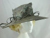 Grey Wide Brim Events Hat