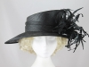 Gwyther-Snoxells Black Wedding Hat