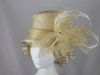 Gwyther Snoxells Cream Wedding Hat