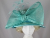 Gwyther-Snoxells Electric Blue Wedding Hat