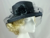 Hamells Navy Wedding Hat with Veil