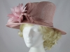 Hatmosphere Collection Dusty Pink Wedding Hat