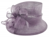 Hawkins Collection Down Brim Wedding Hat in Heather