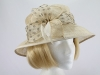 Unnamed Honeycomb and Brown Wedding Hat