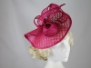 Elegance Collection Folded Events Disc in Hot Pink