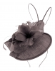 Failsworth Millinery Quills Disc Headpiece in Iris