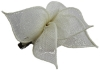 Elegance Collection Sinamay Small Leaves Fascinator in Ivory