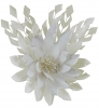 Failsworth Millinery Feather Flower Fascinator in Ivory