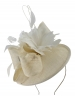 Failsworth Millinery Quills Disc Headpiece in Ivory