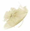 Failsworth Millinery Sinamay Headpiece in Ivory