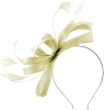 Failsworth Millinery Sinamay Loops Fascinator in Ivory