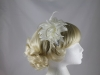 Flower Fascinator in Ivory