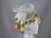 Molly and Rose Layered Headpiece in Ivory