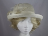 Leaves and Loops Wedding Hat