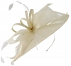 Max and Ellie Ascot Disc Headpiece in Ivory
