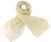 Max and Ellie Fine Woven Scarf in Ivory