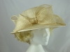 Ivory Sparkly Wedding Hat