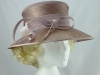 Jacques Vert Mauve Wedding Hat