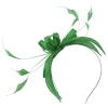 Failsworth Millinery Sinamay Fascinator in Jade