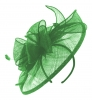 Failsworth Millinery Sinamay Headpiece in Jade
