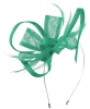 Max and Ellie Flower Fascinator in Jade