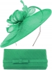 Max and Ellie Occasion Disc with Matching Occasion Bag in Jade
