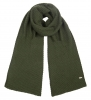 Alice Hannah Knitted Scarf in Khaki