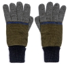 Boardman Cruz Mens Multi Colour Gloves in Khaki