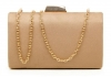 Papaya Fashion Clutch Box Bag in Khaki