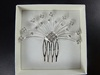 Large Flower Hair Comb