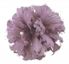 Failsworth Millinery Feather and Diamante Fascinator in Lavender